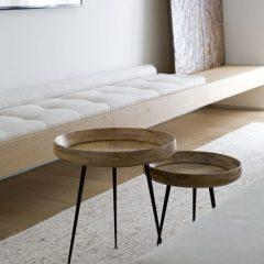 Mater Design BOWL - houten bijzettafels