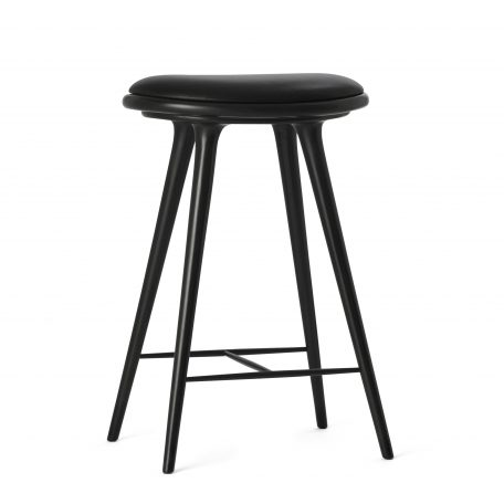 010014_Mater Design High Stool Black stained Beechwood