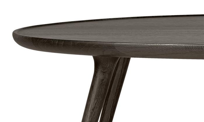 Mater Design - Accent Lounge table - Eiken salontafel ovaal - mat gelakt (01404)