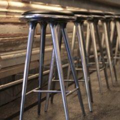Mater Design High Stool Recycled aluminium