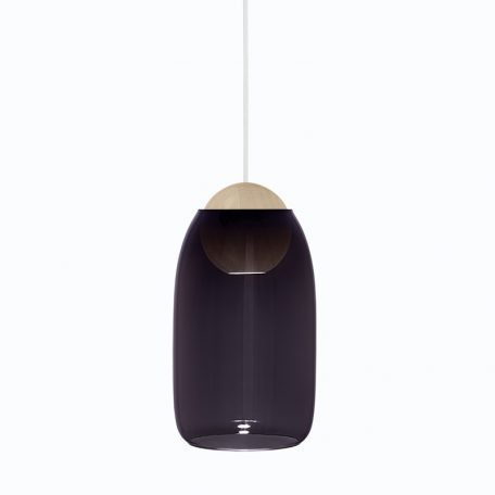 Mater Design - LIUKU BALL Base Hanglamp van hout - DARK