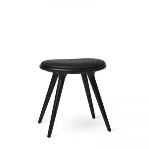 Mater Design LOW STOOL - Kruk van zwart gebeitst FSC beuken - 01013