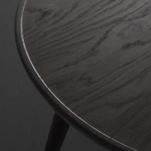 Mater Design ACCENT -bijzettafel van donkergrijs eiken - Large
