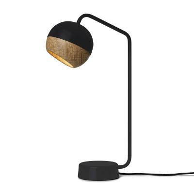 Mater Design RAY zwarte tafellamp van metaal