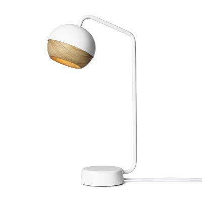 Mater Design RAY - witte tafellamp van metaal