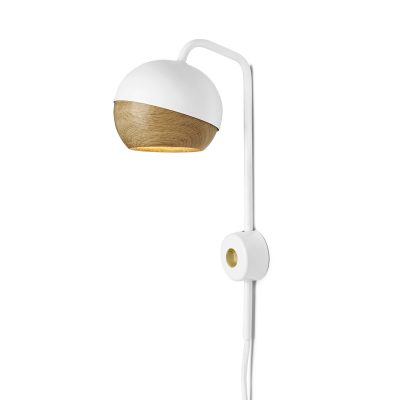 Mater Design RAY - witte wandlamp van metaal
