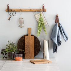 byWIRTH DOUBLE LOOP haken hangers Gerookt Eiken