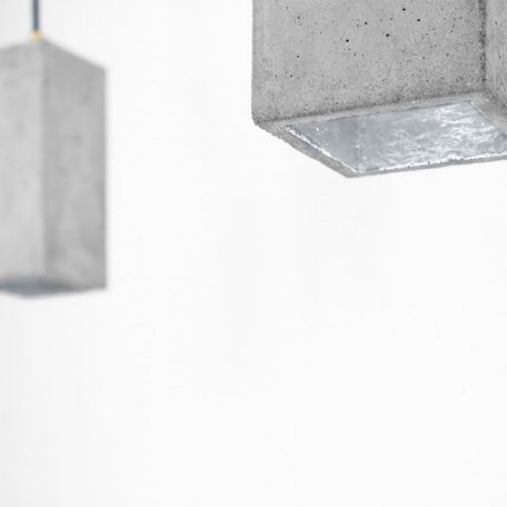 GANTlights GANT lights B2 hanglamp beton lichtgrijs_ZILVER