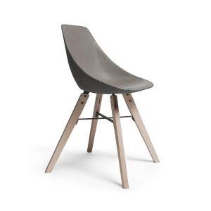Lyon Beton HAUTEVILLE – Stoel van beton en houten poten - DL-09181-PL-004 (3)