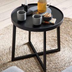 By WIRTH TRAY TABLE zwart eiken (4)