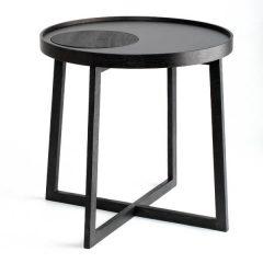 By WIRTH TRAY TABLE zwart eiken (7)