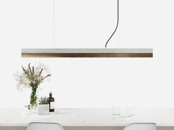 GANTlights C1 hanglamp beton lichtgrijs en walnoot (3)