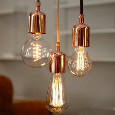 DEPARSO_DHOCHZWEI_Hanglamp fitting koper_bruin - 40008.001.01