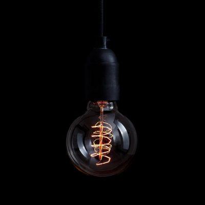 DEPARSO_DHOCHZWEI_Hanglamp fitting thermoplast_zwart - 40107.001.01