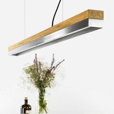GANTlights C1 hanglamp Eiken-RVS (1)