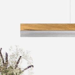 GANTlights C1 hanglamp Eiken-RVS (3)