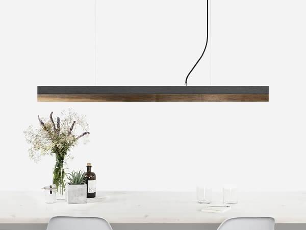 GANTlights C1 hanglamp van donkergrijs beton en walnoot (3)