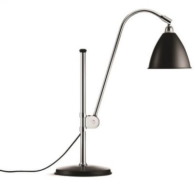GUBI Bestlite BL1 tafellamp Zwart_Chroom