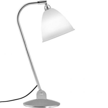 GUBI BL2 tafellamp chroom-porselein (Bone China(