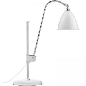 GUBI Bestlite BL1 - GUBI BL1 tafellamp chroom-wit (Soft White Semi Matt)