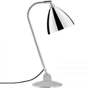 GUBI Bestlite BL2 metalen tafellamp Chroom-Chroom