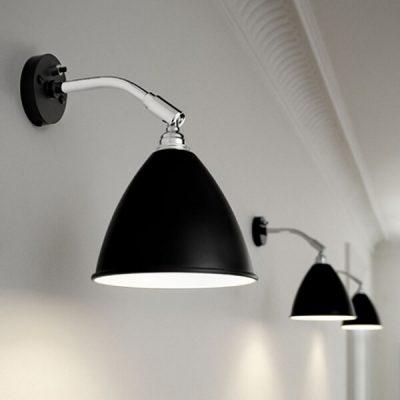 GUBI Bestlite BL7 wandlamp Zwart