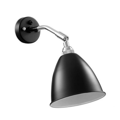 GUBI Bestlite BL7 wandlamp Zwart_Chroom