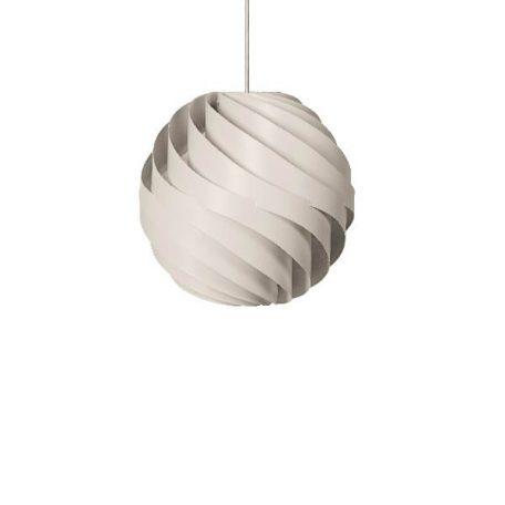 GUBI TURBO Small - hanglamp Mat Wit
