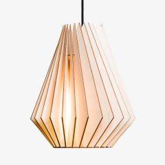 IUMI HEKTOR L - Hanglamp berken fineer naturel-zwart