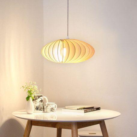 IUMI NEFI - Hanglamp van Berkenfineer naturel (1)