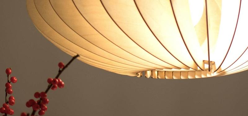 IUMI NEFI - Hanglamp van Berkenfineer naturel (3)