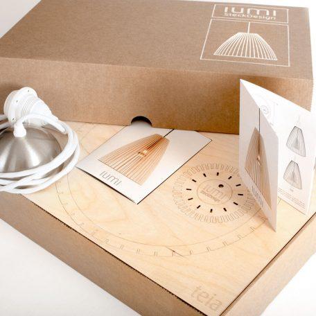IUMI TEIA Hanglamp Berkenfineer Verpakking