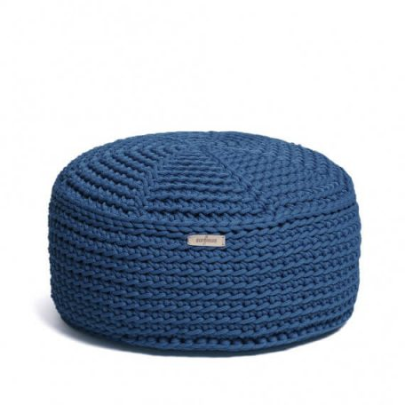 SanFates LA KIDS poef - jeans blauw