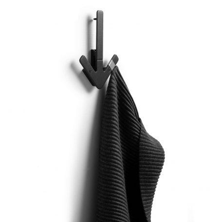 DESIGN HOUSE STOCKHOLM - ARROW Wandkapstok Zwart (5)