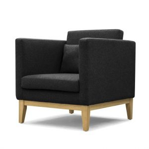 DESIGN HOUSE STOCKHOLM - DAY Armchair_Armstoel Darkgrey_Donkergrijs