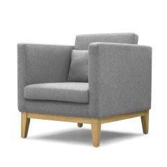 DESIGN HOUSE STOCKHOLM - DAY Armchair_Armstoel Lightgrey_Lichtgrijs
