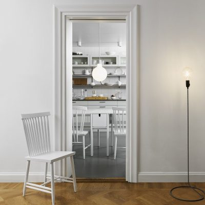 DESIGN HOUSE STOCKHOLM - FAMILY CHAIR -Eetkamerstoel wit