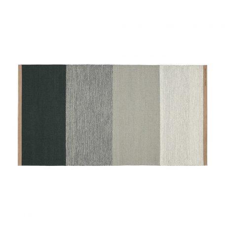 DESIGN HOUSE STOCKHOLM - FIELDS tapijt, vloerkleed 70x130 Grijs-Groen (2399-6029)