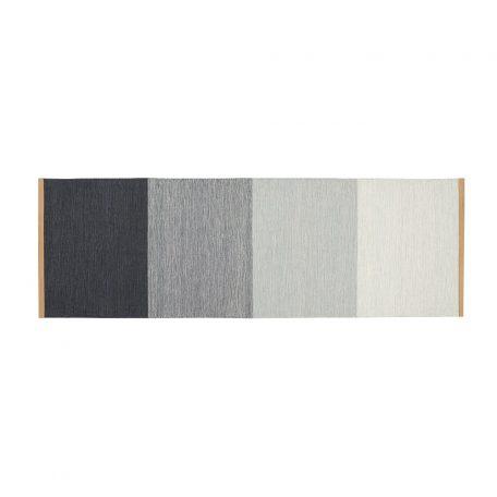 DESIGN HOUSE STOCKHOLM - FIELDS tapijt, vloerkleed 80x250 Grijs-Blauw (2400-5029)