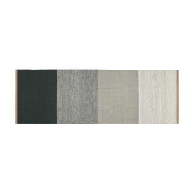 DESIGN HOUSE STOCKHOLM - FIELDS tapijt, vloerkleed 80x250 Grijs-Groen (2400-6029)
