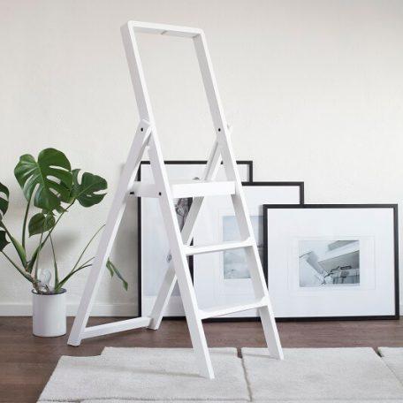 DESIGN HOUSE STOCKHOLM - STEP - Keukentrap wit berken