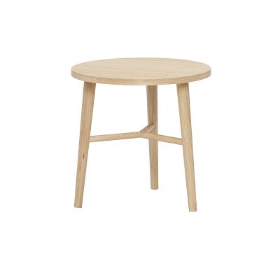 HUBSCH INTERIOR - Eiken bijzettafels en salontafel SET - 40xh40 (880522)