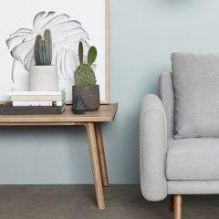 Hubsch Interior – Rechthoekige salontafel met rand, eiken (880480)-2