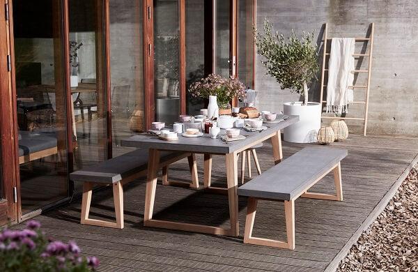 Hubsch Interior picknicktafel 850409