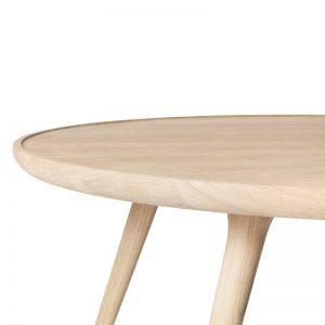 Mater Design ACCENT - eetkamertafel rond, mat gelakt eiken - 01415