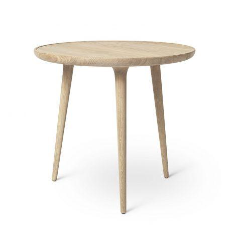 Mater Design ACCENT - ronde eiken bijzettafel, mat gelakt - LARGE (01413)