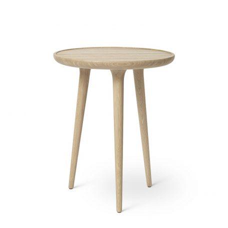 Mater Design ACCENT - ronde eiken bijzettafel, mat gelakt - MEDIUM (01412)
