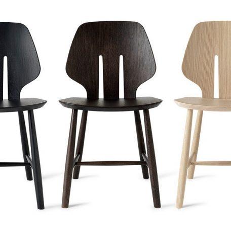 Verwonderend Coolliving.nl | Mater Design eetkamerstoel J67 zwart eiken PO-24