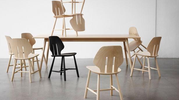 Mater Design eetkamerstoel J67 zwart eiken – Deense Design Klassiekers (3)
