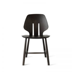 Mater Design eetkamerstoel J67 zwart eiken – Deense Design Klassiekers - GRIJS (1)
